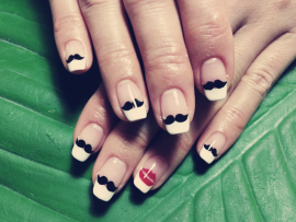 nail - ヒゲネイル♡ - tagVERY - Up Your Style - | VERY[ヴェリィ]オフィシャルサイト | 光文社 (25997)