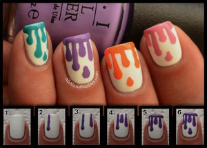 Nail Art Tutorials Step By Step For Beginners & Learners 2013/ 2014 | Fabulous Nail Art Designs (32706)