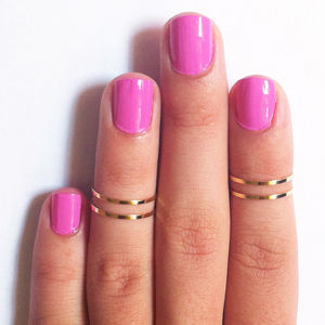 Fancy - Gold Above the Knuckle Rings by Galisfly (36083)