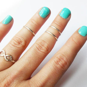 Fancy - Sterling Silver Above the Knuckle Rings by Lyndy Harris (36084)