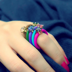Fancy - Silicone Ring by Miss Bibi (36115)