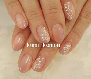 NailサロンMagique横浜店   小森久美 (^w^) ペイズリー柄 ネイルサロン マジーク 横浜店 ネイリスト 小森久美 (36732)