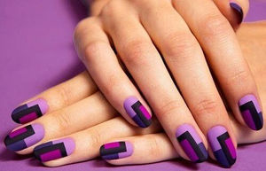 Retro style nails | Get Nailed | Pinterest (40556)
