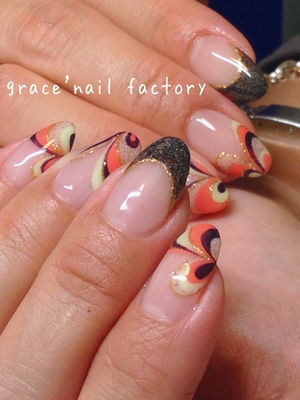 ・・effect PUCCI・・|住吉区・あびこの大人ネイルgrace'nail factory (41920)