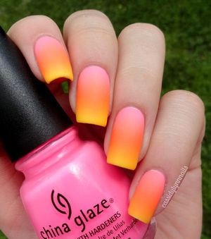 ♥ Summer Neon Gradient Nail Art ♥ | Cassidy Lynn Nails (47995)
