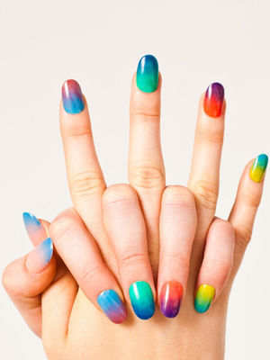 General : Amazing American Summer Rainbow Gradient Polish Nail Design Ideas | acrylic nails designs 2012, cool easy nail designs, cool nail art designs, cool nail art designs for beginners, cool nail art designs for short nails, cool nail art designs to do at home, cool nail designs, cool nail designs games, easy nail designs (48059)