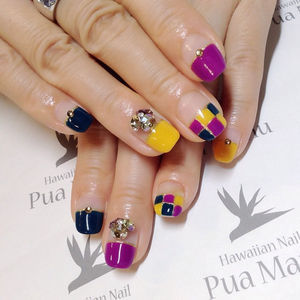 Instagram photo by @aska1007 (Hawaiian Nail Pua Manu) | Iconosquare (49293)