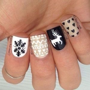 Christmas Nails | Nail Art Christmas and Winter Manicures | Pinterest (49510)