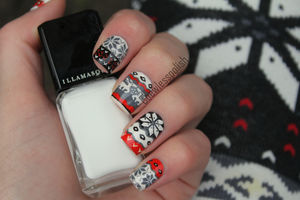 #1 It's Christmas! – Inspired by Iwearsin leggings | Coewless nail polish blog (49541)