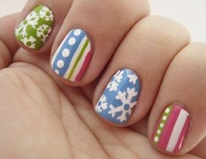 60 Winter Nail Polish Ideas, Submitted by Glamour.com Readers (49545)