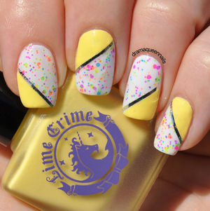Drama Queen Nails: #31dc2013 - Day 3: Yellow (49722)