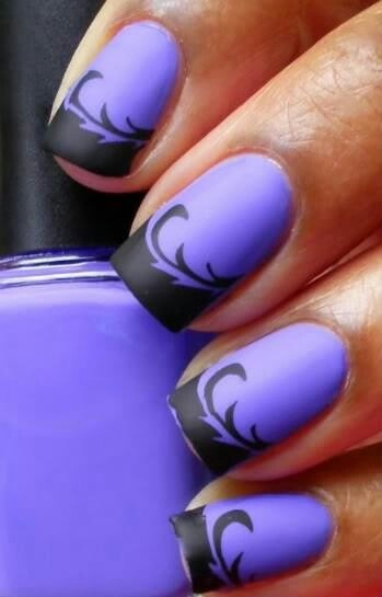 Purple and black with a matte finish | My Style | Pinterest (57443)