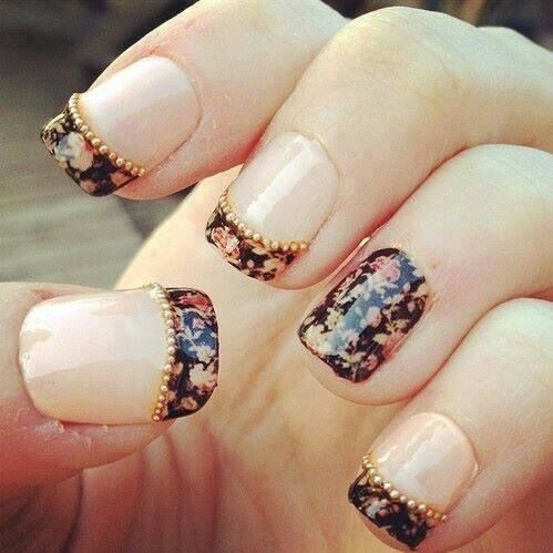 Nail Art rétro et fleuri | Nails | Pinterest (58209)