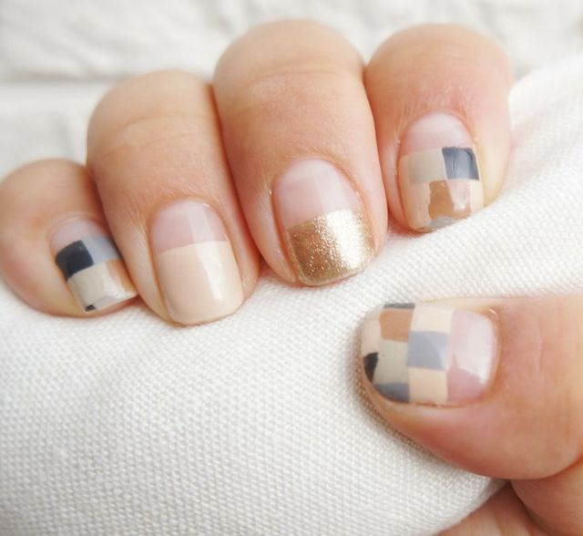 a geometric mani for spring. | Style | Pinterest (59922)