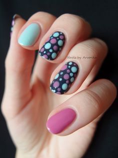 Pastel Dots | Nails | Pinterest (61430)