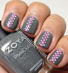 London with dotted nail design | Nails | Pinterest (61441)