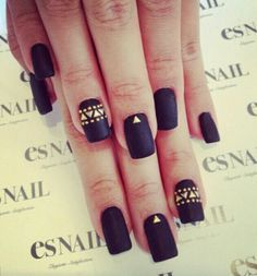 Studded matt ♡ | Future Nail Designs | Pinterest (61704)