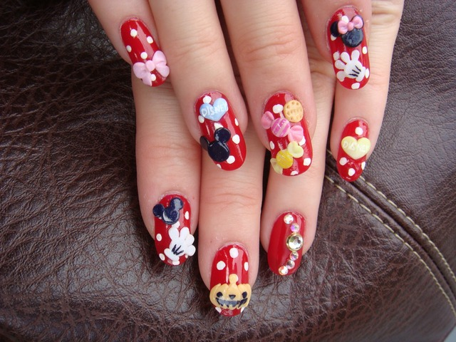 Princess☆Jewelry:ディズニー☆NAIL (64204)