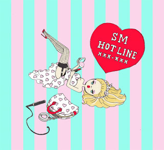FOXY illustrations: SM HOT LINE ♡ XXX-XXX (66593)