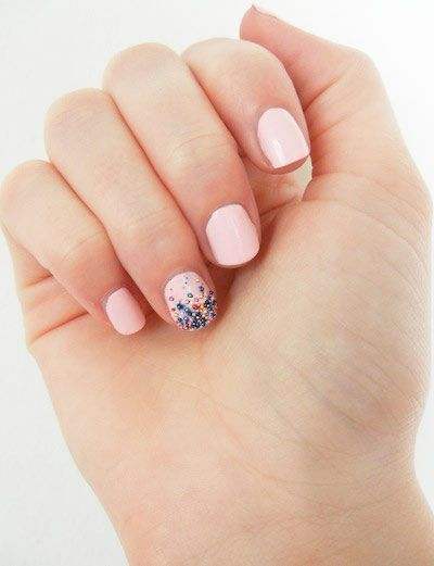 DIY Nail Art: Fun with Ciaté Caviar Nail Polish (94329)