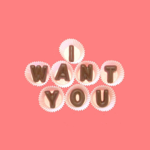 I Want You Large Milk Chocolate Letters | We Heart It (94969)