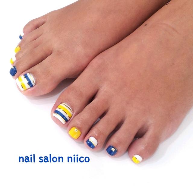 お客様ネイル Foot | 江東区・錦糸町・亀戸でおすすめのネイルサロン|Nail salon niico (102093)