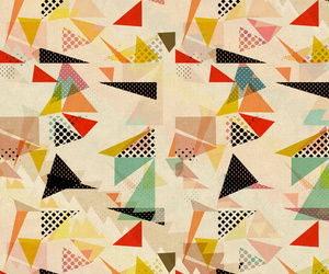between shapes Art Print by SpinL | Society6 | We Heart It (110074)