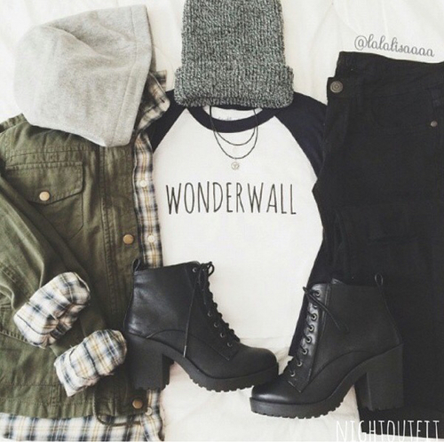 Grunge outfit | We Heart It (144658)