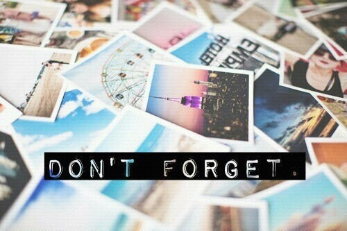 Memories~don't forget   We Heart It (160724)