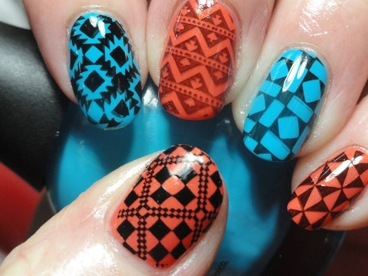 Canadian Nail Fanatic: Stamping Polish Comparisons (162797)