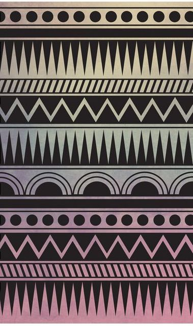 AZTEC PATTERN Canvas Print by ItsJessica | We Heart It (165372)