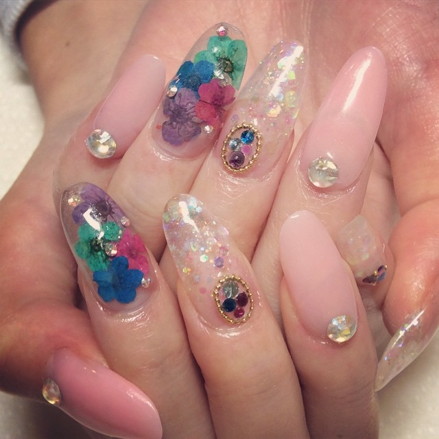Instagram photo by @nail_amber (Nail Salon AMBER) | Iconosquare (166423)