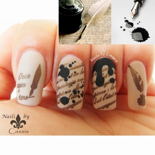 Nails by Cassis: MoYou London nail art challenge entries Part 3 (193188)