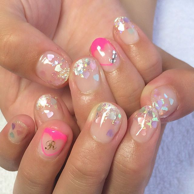 #イニシャルネイル • Instagram photos and videos (238975)