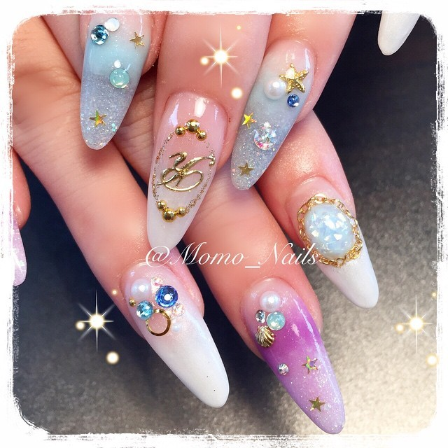 #イニシャルネイル • Instagram photos and videos (238984)