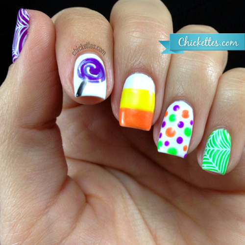Chickettes: Soak-Off Gel Polish Swatches, Nail Art and Tutorials (251010)