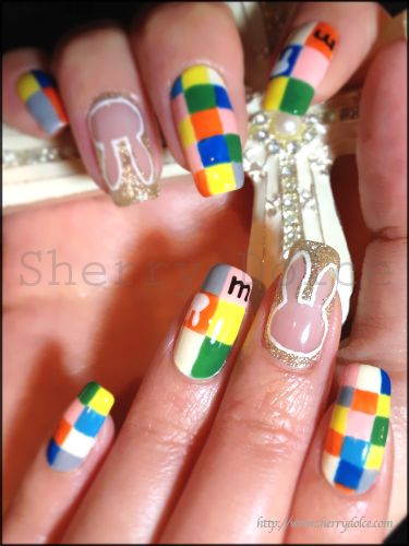 Mosaic Miffy☆Nail|Sherry BLOG-Nail & Happy life- (261377)