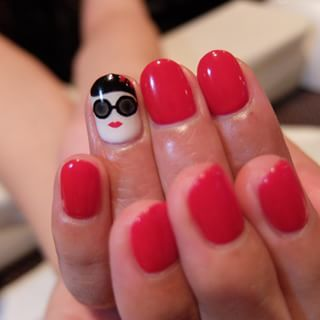 @douguchi - アリスアンドオリビアnail ❤︎ #nail #art #cute #nailart... - Pikore (263586)