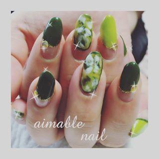 @n_miita - #カーキネイル#秋ネイル #ボタニカル#nails #nail#熊本#ネイリスト#山鹿 - Pikore (292873)