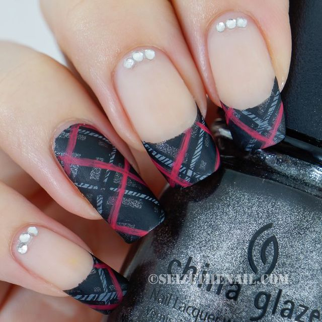 Seize The Nail: plaid nail art | Cute nail colors/designs | Pinterest (298908)
