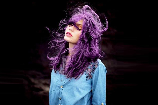 Warning: These 20 Purple Hairstyles Will Make You Want to Dye Your Hair | Brit + Co (311188)