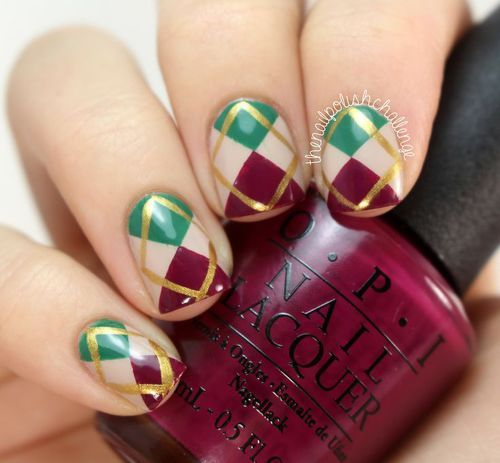 Christmas Nails by Syd and Pia NYC | We Heart It (317939)