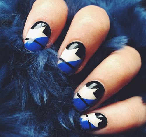 blue and stars by Panda | We Heart It (320204)