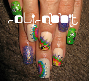 ★ピーコックネイル★ | Private Nail Salon RoliRabbit (376690)