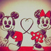 """【ディズニー】可愛すぎるあのキャラを指先に♡""""ミッキー&ミニー""""ネイル。"""