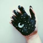 夜空の似合う女になりましょ♡夜空ネイルのキラ可愛いデザイン集