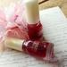 ちふれのマニキュアで塗るだけ簡単!リンゴ飴ネイルで大人ガーリーな指先をGET!