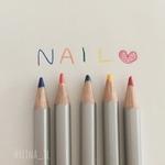 『色鉛筆ネイル』のやり方♡ほっこり優しいタッチに癒される♡