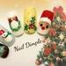 クリスマスネイル、あなたはどっち派?ガッツリXmas〜オフィスOKな控え目デザインまで一挙ご紹介