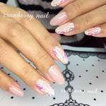 【cranberry nail 鯨岡百合香】春にしたい『大人の花柄ネイル』を大公開!